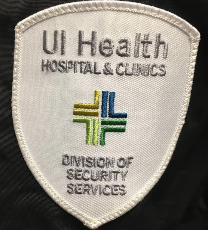 UI Health Hospital and Clinics Division of Security Services patch