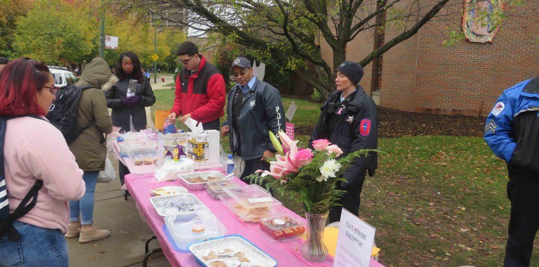 Breast Cancer dessert sale